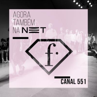 Fashion Tv Brasil na NET 551