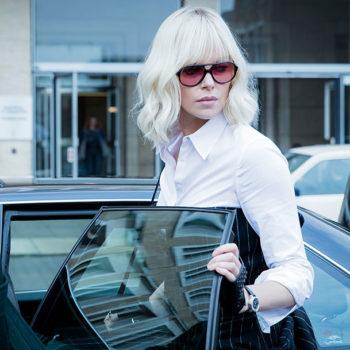 O figurino de Atomic Blonde e as escolhas de Charlize Theron para lançamento